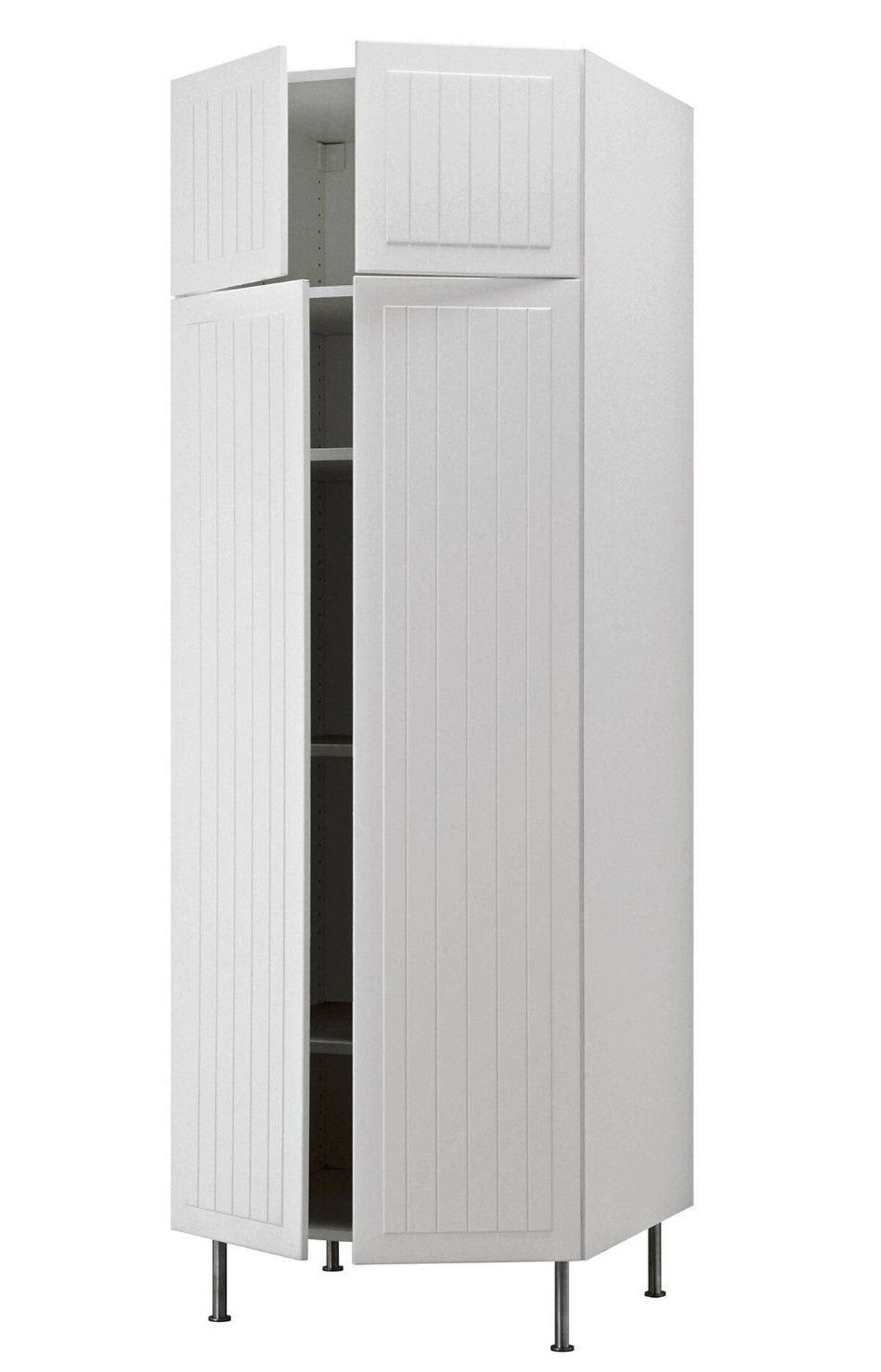 IKEA's Akurum High Cabinet is customizable to your storage needs and is available in 2-door, 3-door and 4-door models, as well as various finishes from classic white to birch to high gloss. From $246 at IKEA (www.ikea.ca).
