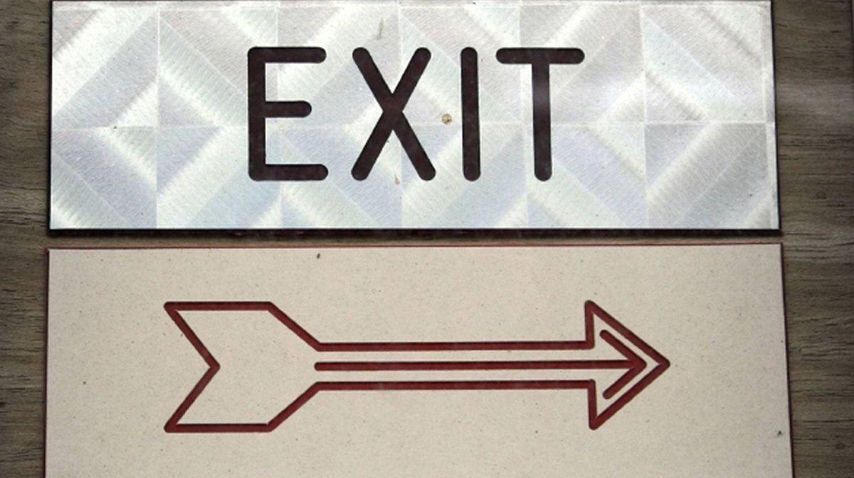 Show exit interviews the door
