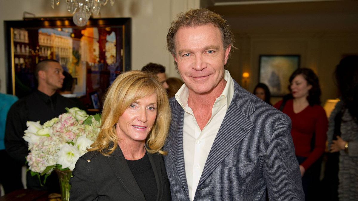 Chef Mark McEwan with his wife Roxanne