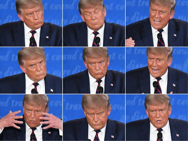 Trump vs. Biden debate: That was gross. Trump can't do TV debates any more  - The Globe and Mail