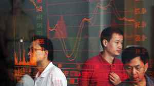 Investors view stock index at a securities company on August 23, 2007 in Wuhan of Hubei Province, China