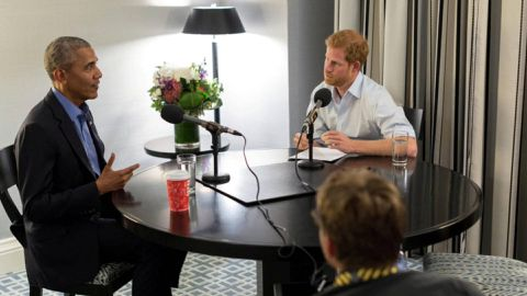 Obama warns of divisive social media use in Prince Harry interview