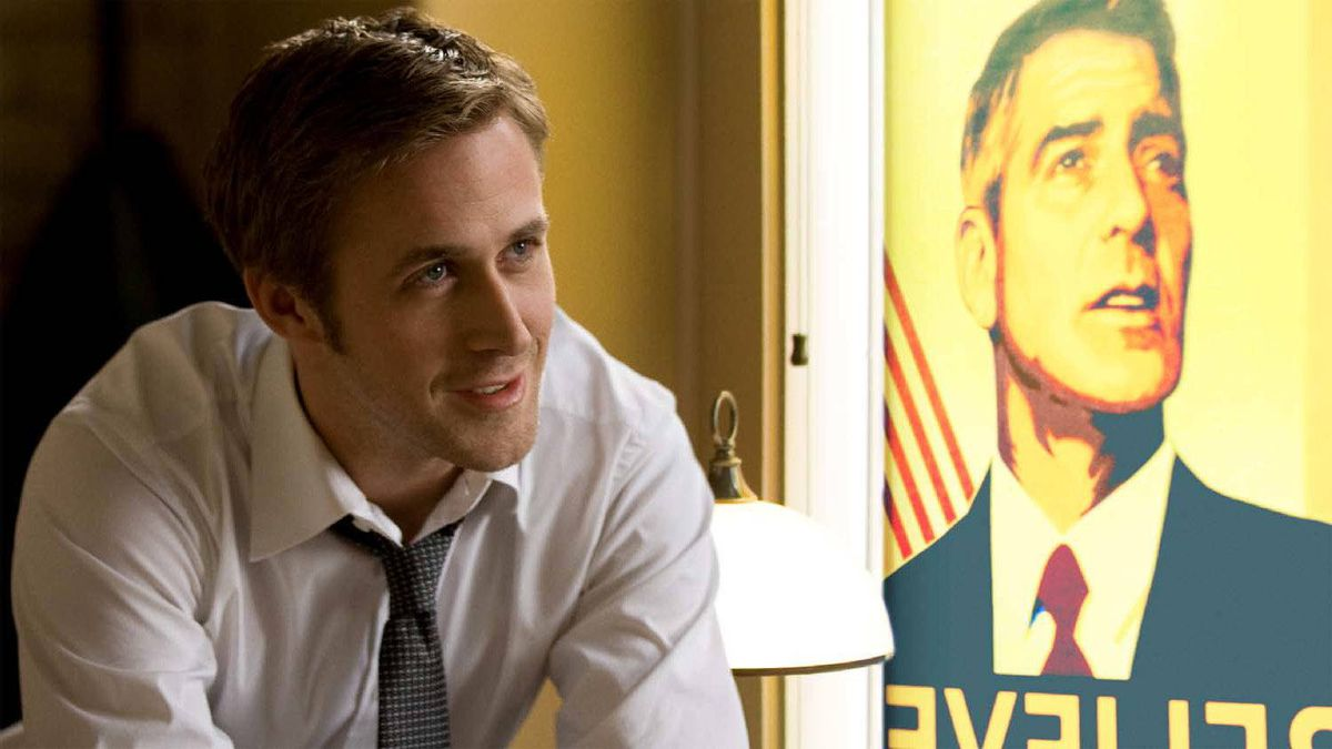 "Ryan Gosling in a scene from ""The Ides of March"""