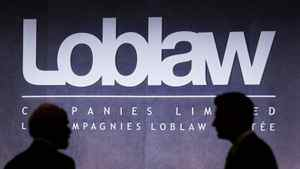 Shareholders talk before the Loblaw Companies Limited annual general meeting in Toronto on Wednesday, May 5, 2010.