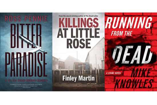 Six new mystery books – including an unintentionally timely epidemic thriller