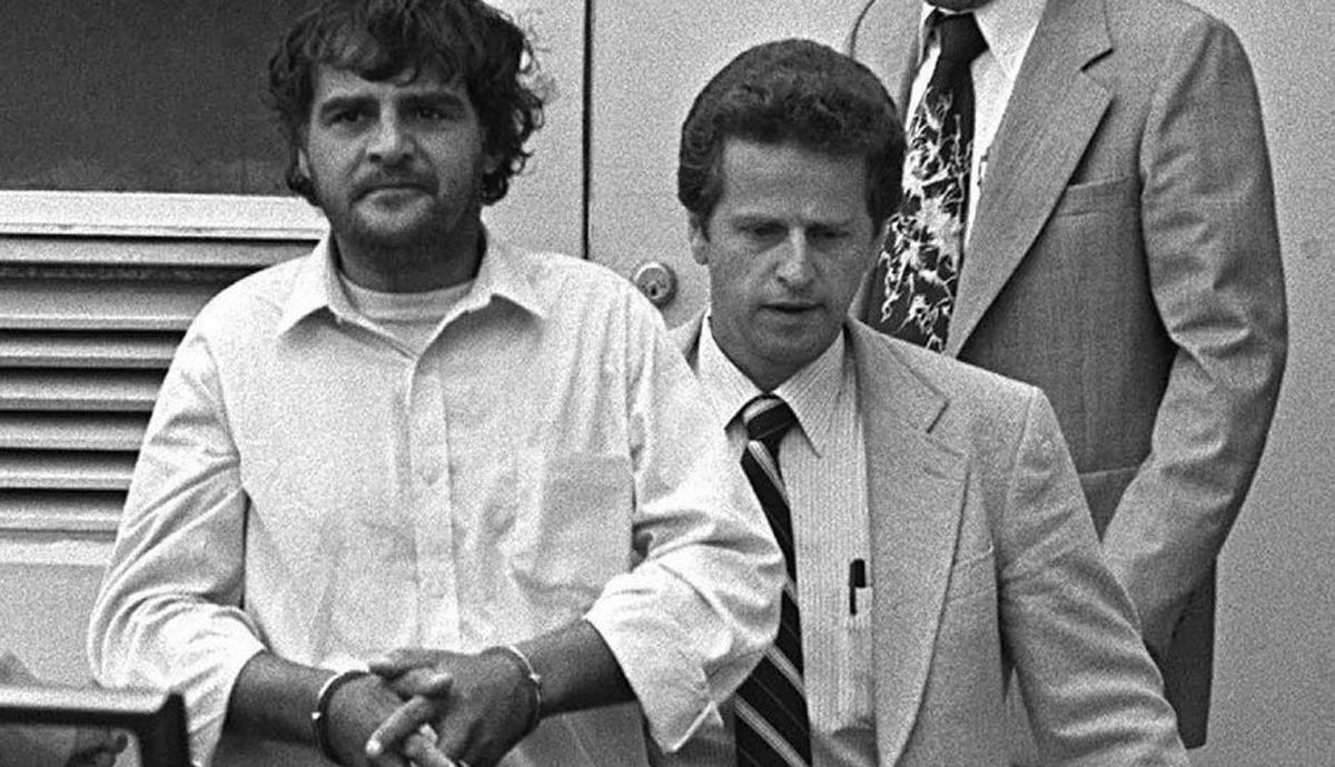 Clifford Olson leaves Chilliwack Provincial Court on August 8, 1981. The British Columbia serial child killer spent 10 years in isolation at the Kingston Penitentiary before his transfer in 1992 to the Special Handling Unit of the Saskatchewan Penitentiary in Prince Albert, Sask.