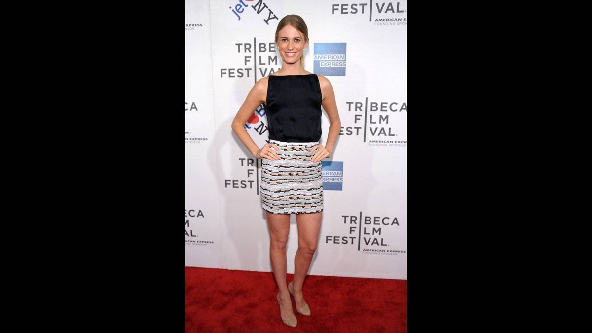 "Model Julie Henderson attends the premiere of ""Last Night"" during the 2011 Tribeca Film Festival at BMCC Tribeca PAC on April 25, 2011 in New York City."