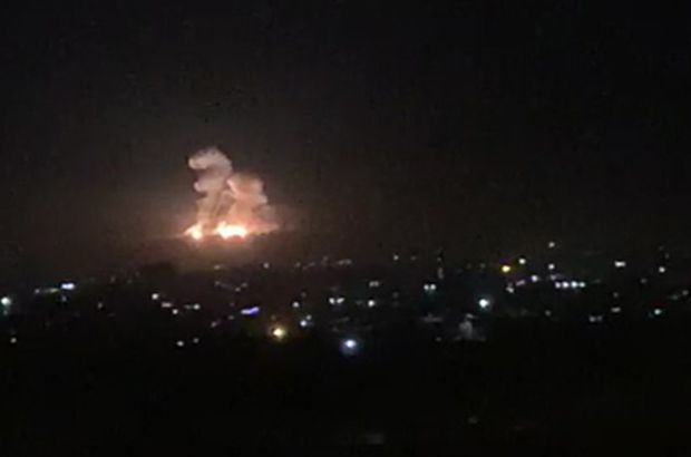 Israeli air strikes hit Iranian positions in Syria; at least 23 reportedly killed