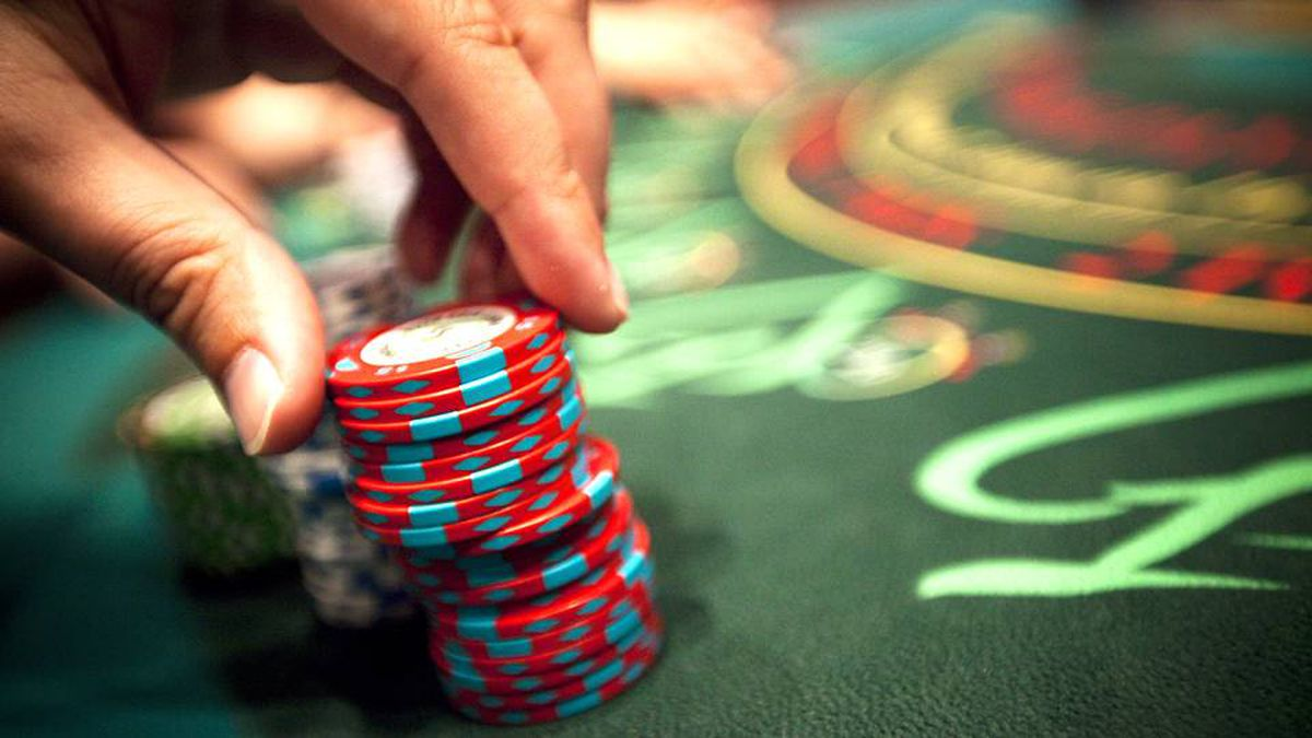 A blackjack table at the River Rock Casino in Richmond, B.C.