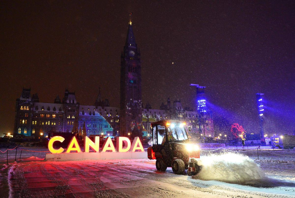 White Christmas In Canada.White Christmas Uncertain In Parts Of Canada But Cold Snap