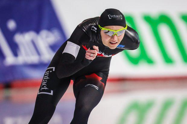 Isabelle Weidemann sets new Canadian speedskating record, breaking Cindy Klassen's 13-year record