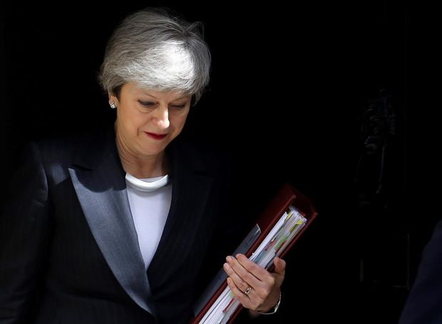 Britain's Theresa May hunkers down as premiership enters its end stage