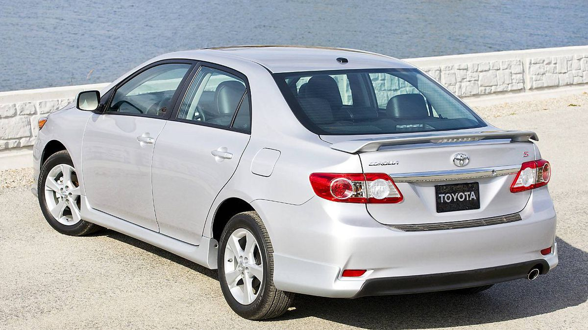 2011 Toyota Corolla: A perennial best seller in Canada, the Corolla is the best-selling model in the history of the world.