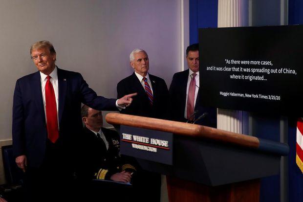 Trump meets Michigan Democrat who credited him with coronavirus survival