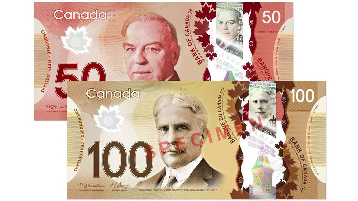 The first bills to go plastic will be the $100 notes in November, 2011. The $50 notes will follow next March 2012. The rest of the plastic money will be in circulation by the end of 2013. The polymer bank notes have security features that make them harder to fake than paper money.