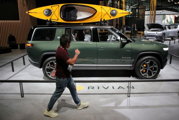 Ford invests $500 million in electric auto startup Rivian