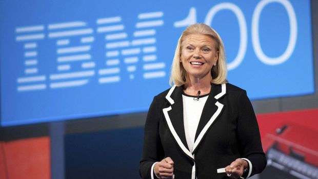 """Virginia """"Ginni"""" Rometty becomes CEO of IBM Corp. on Jan. 1, the first woman to head the pioneering technology company in its 100-year history."""