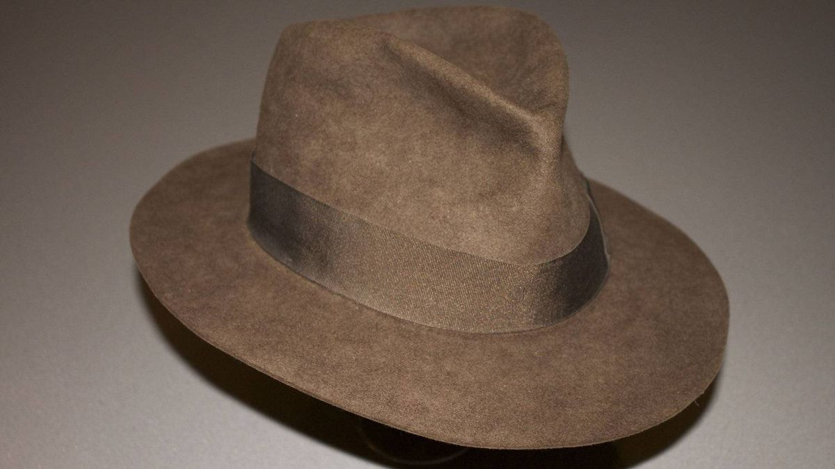 A close-up of the hat worn by Harrison Ford in Indiana Jones and The Temple of Doom, now owned by Fusenet co-founder and movie buff Ryan van Barneveld.