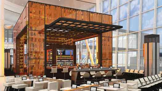 Located in both Terminals 1 and 3 is wine bar Vinifera