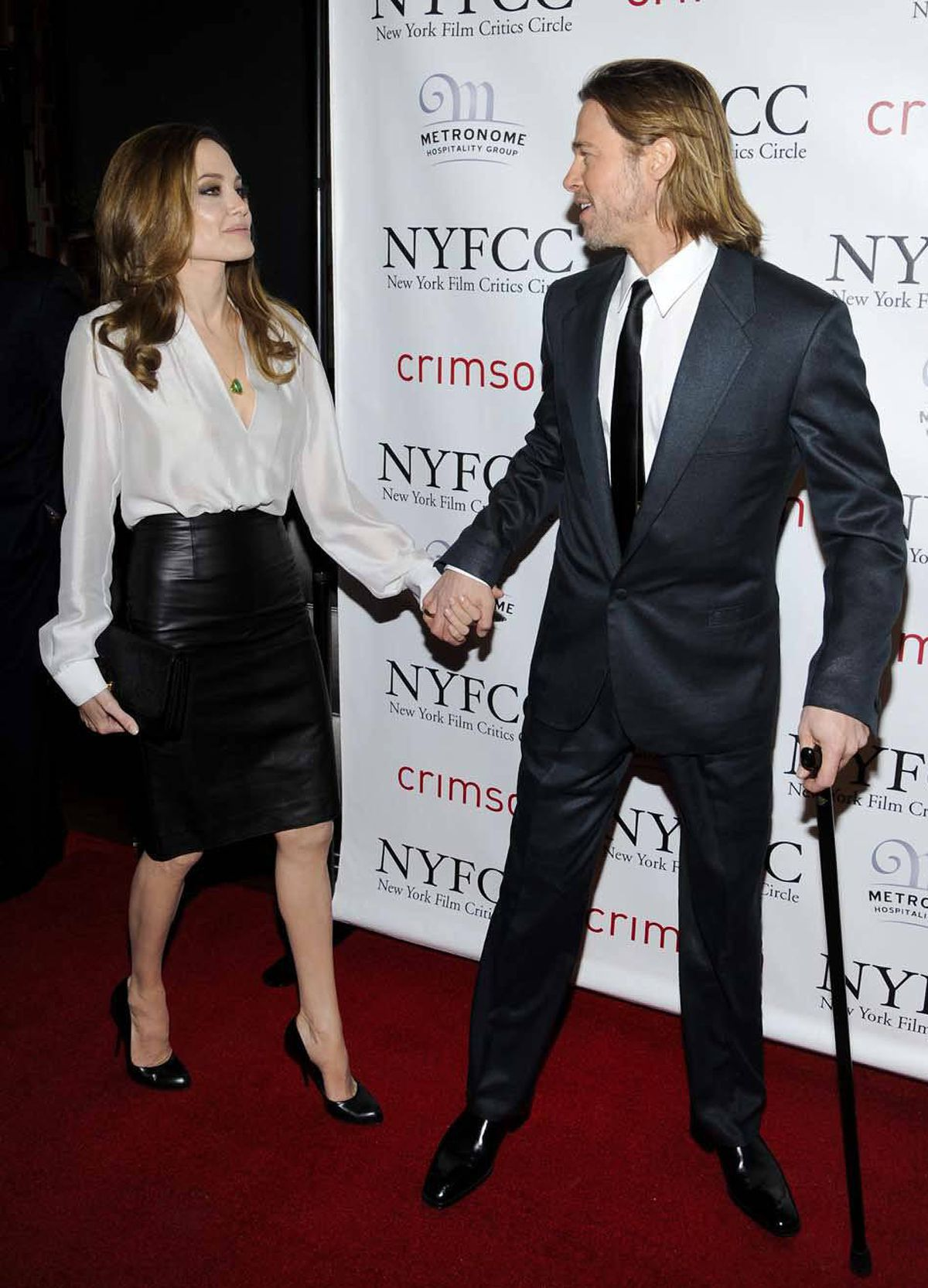 And then they nailed it again two days later at the New York Film Critics Circle Awards in New York City. It's almost like they practise this stuff.