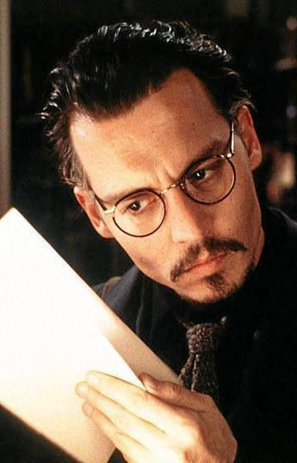 MOVIE The Ninth Gate Bravo!, 11 p.m. ET; 8 p.m. PT Remember when Johnny Depp took chances in his choice of movie roles? In this 1999 thriller directed by Roman Polanski, he plays the rare-book dealer Dean Corso, who is hired by the ominous bibliophile Boris (Frank Langella) to prove the authenticity of a 17th-century book called The Nine Gates. As he tracks down the other two known owners, he discovers that the book contains clues that allegedly enable the owner to summon the devil himself. When his best friend Bernie (James Russo) turns up dead in a manner identical to one of the book's illustrations, Corso discovers he can't get rid of the cursed tome fast enough. It's no Rosemary's Baby, but it's still pretty scary.