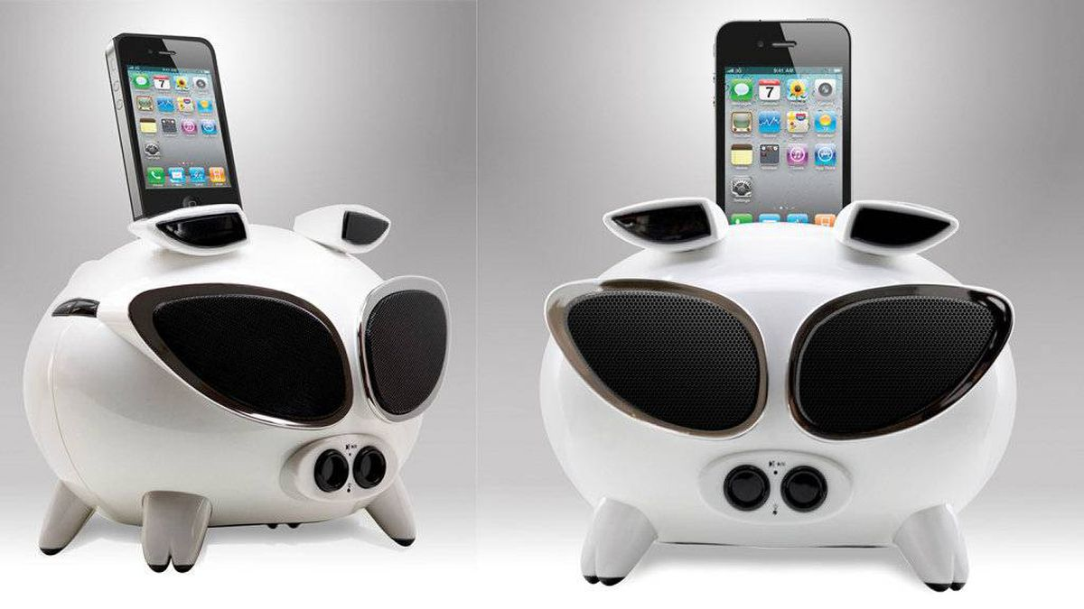 Review: iOS speaker roundup: a puck, a pig and a portable - The