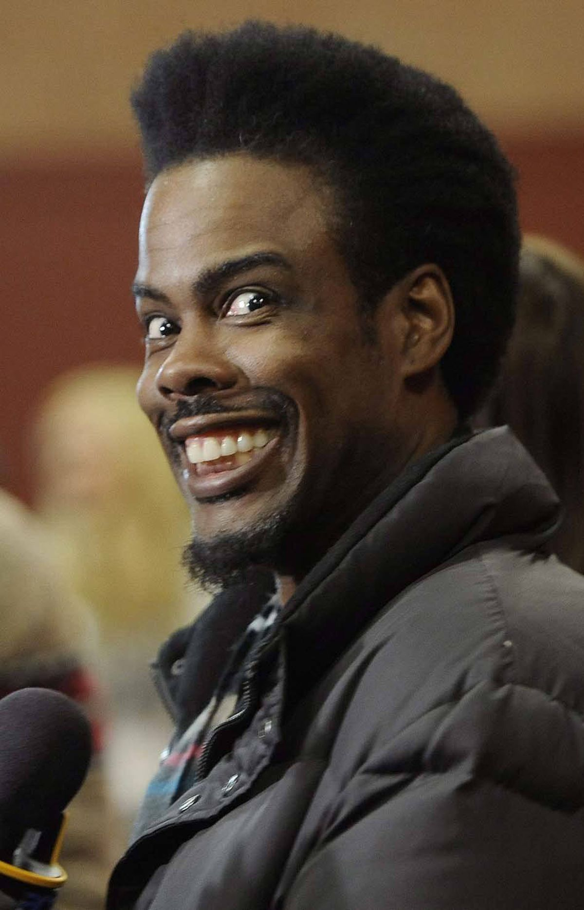 Chris Rock contributes generously to our regularly scheduled inanity at the Sundance Film Festival in Utah on Monday.