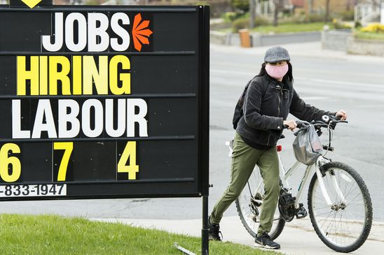 In Canada's K-shaped recession, education levels divide the labour market