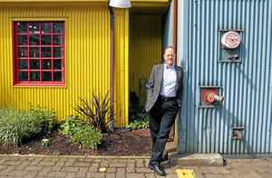 Emily Carr University's Ron Burnett on Granville Island in Vancouver.