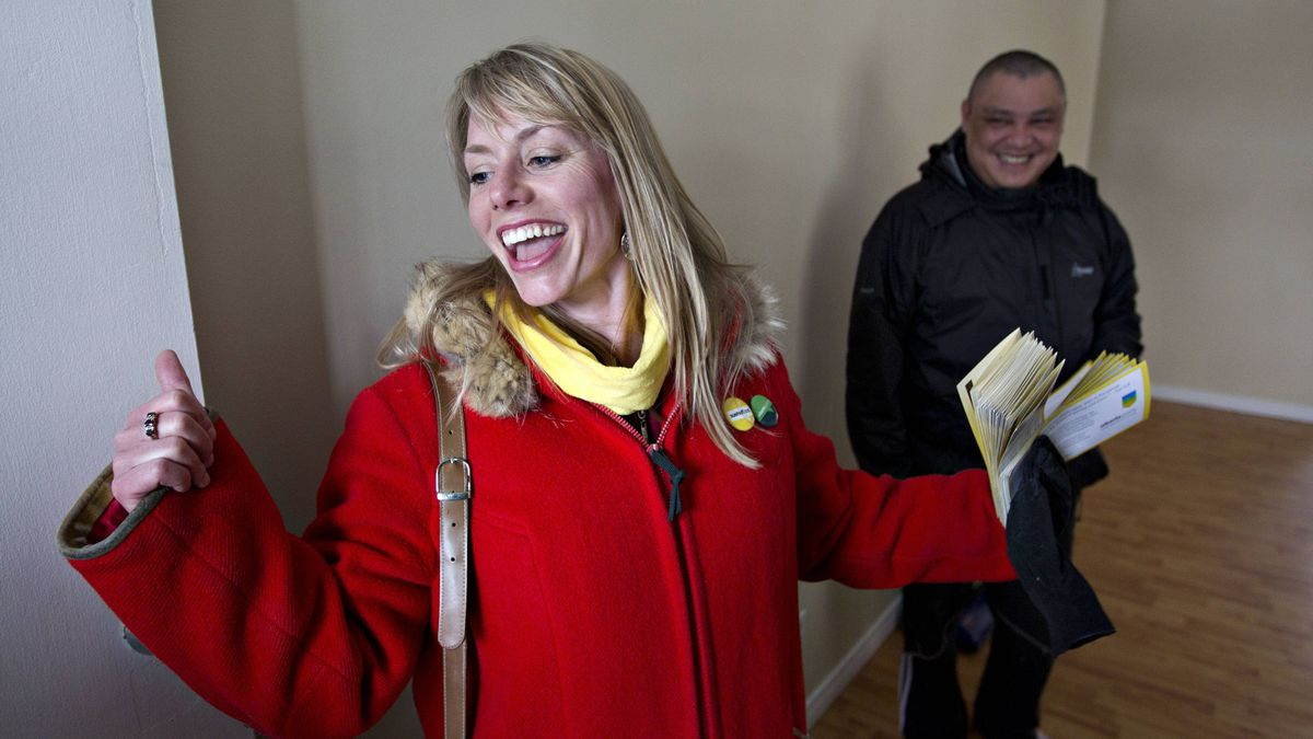 Alberta Party candidate Sue Huff is running in Edmonton-Glenora, one of the ridings the fledgling centrist party has high hopes in.