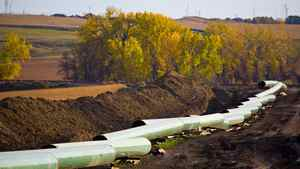Keystone pipeline construction