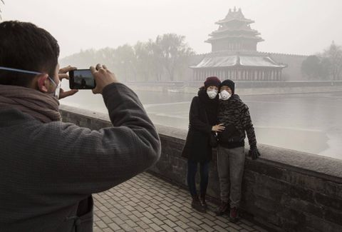 Beijing issues alert with pollution at extremely hazardous levels