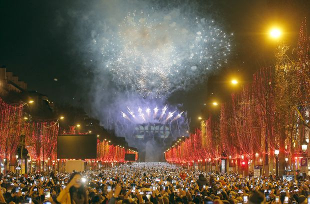 Celebrations across the globe ring in 2019, leaving behind a challenging year