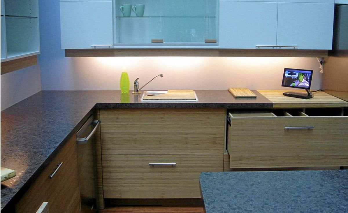 Ontario's Umbrella Cabinetry (www.umbrellacabinetry.com) is known for using eco-friendly materials such as bamboo.