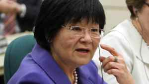 International Co-operation Minister Bev Oda appears before a Commons committee weighing contempt charges against her on March 18, 2011.