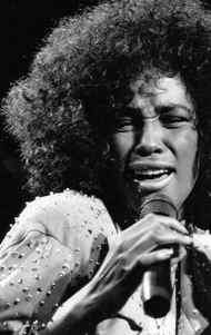 Pop star Whitney Houston was only 23 years old when she dazzled Toronto Aug 22, 1986 . Nearly 25,000 fans gathered at Toronto's Canadian National Exhibition grounds to hear the star performer.