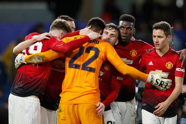 Man United tops Chelsea to advance to FA Cup quarter-finals