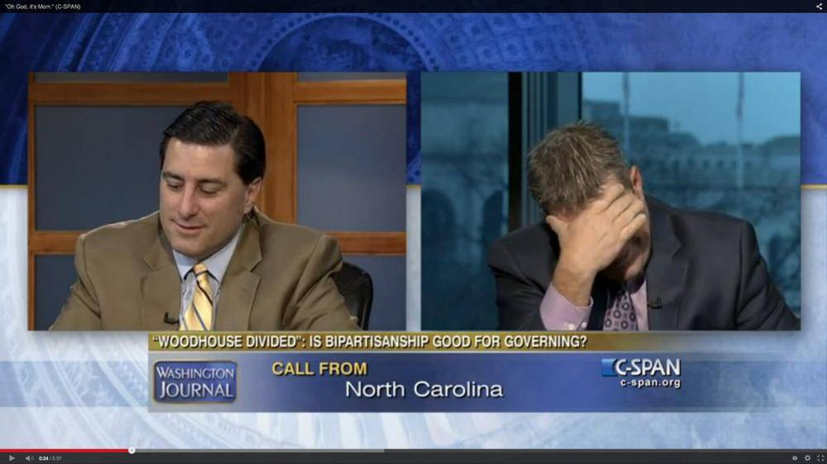 Now Trending: 'Oh, God, it's mom': Political pundit brothers get a