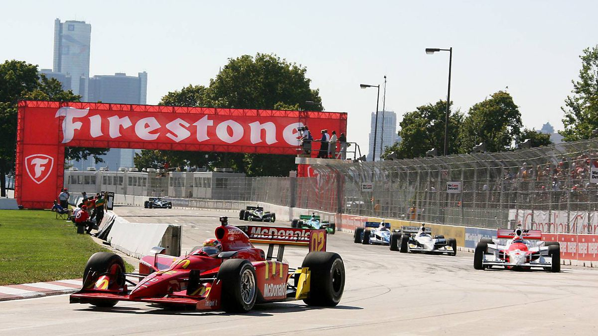 "2008 Detroit Grand Prix ""This one's for you Paul,"" said Justin Wilson after taking what would be the team's last win in IndyCar competition, just four weeks prior to the death of the team's heart and soul, actor Paul Newman."