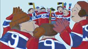 The Sweater, animated film based on Roch Carrier's classic children's story, The Hockey Sweater. Directed by Sheldon Cohen.