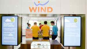 A Toronto-area Wind Mobile store.