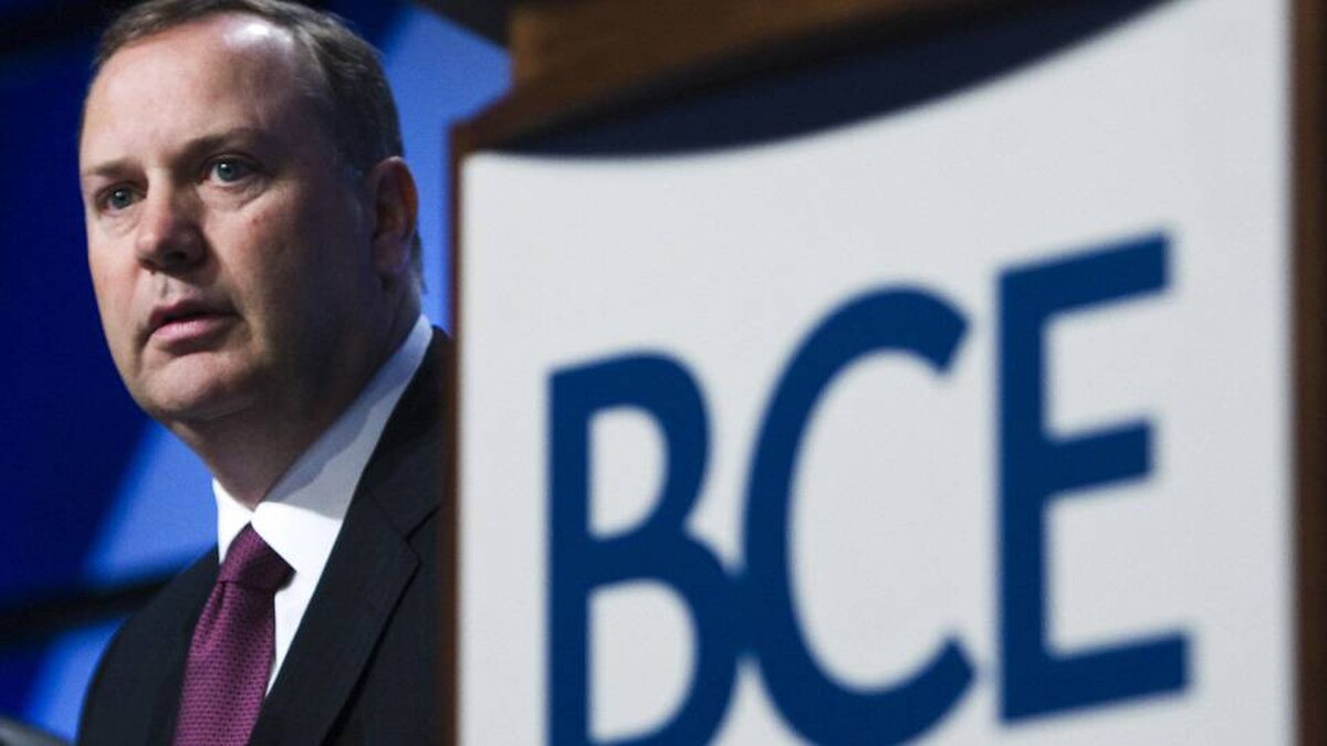 George Cope, CEO, BCE Inc.