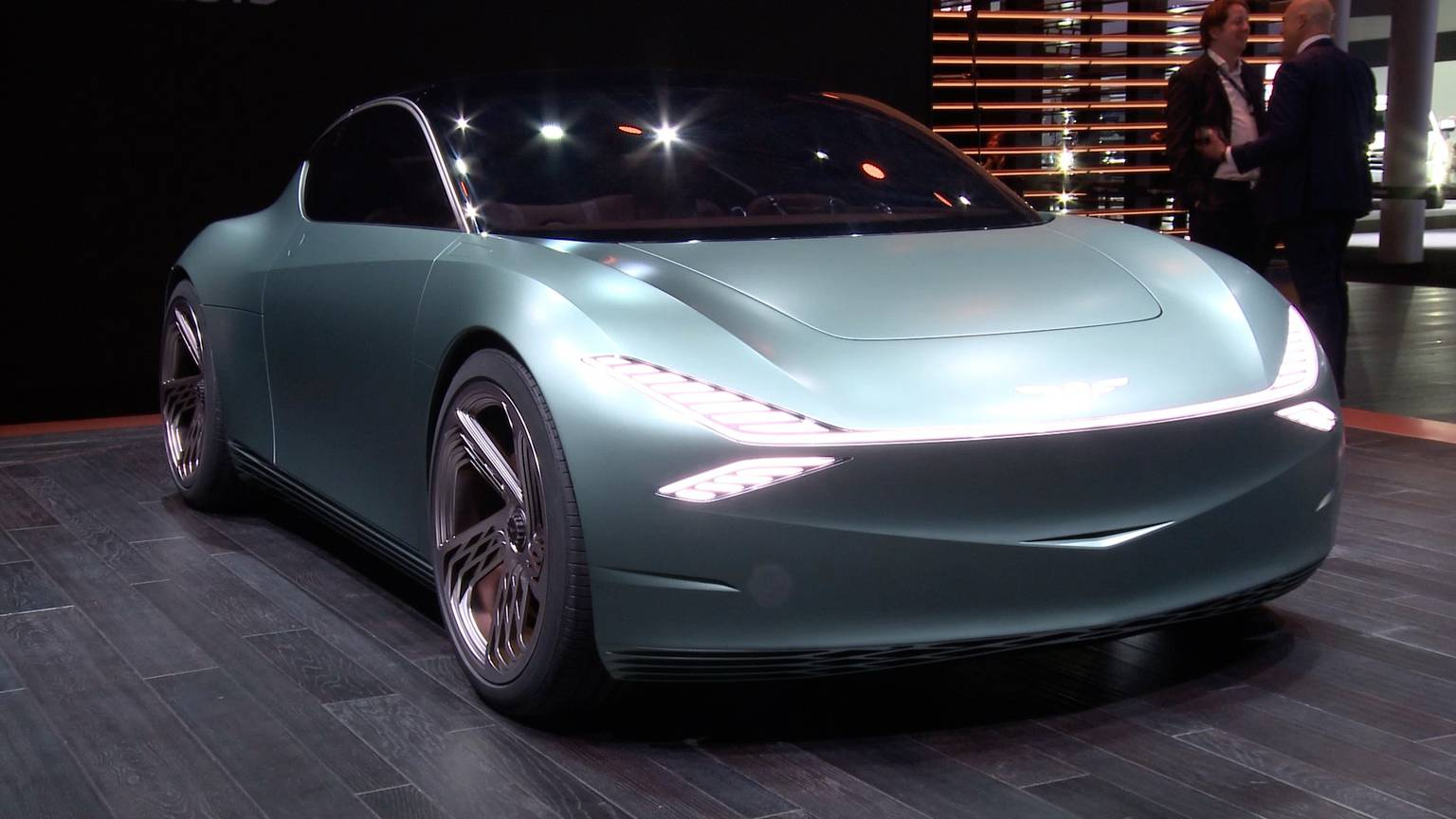 Eye-catching electrics and SUVs at the New York auto show