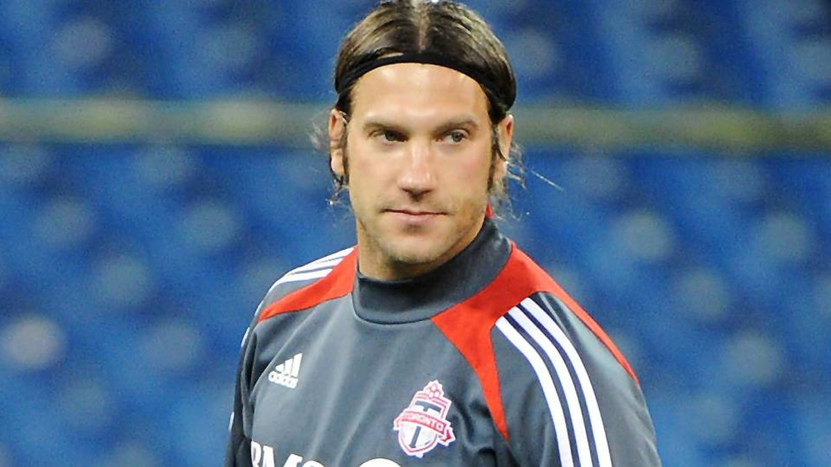 Torsten Frings of the Toronto FC is seen during practice at the Rogers Centre in Toronto, Ont. March 6/2012.