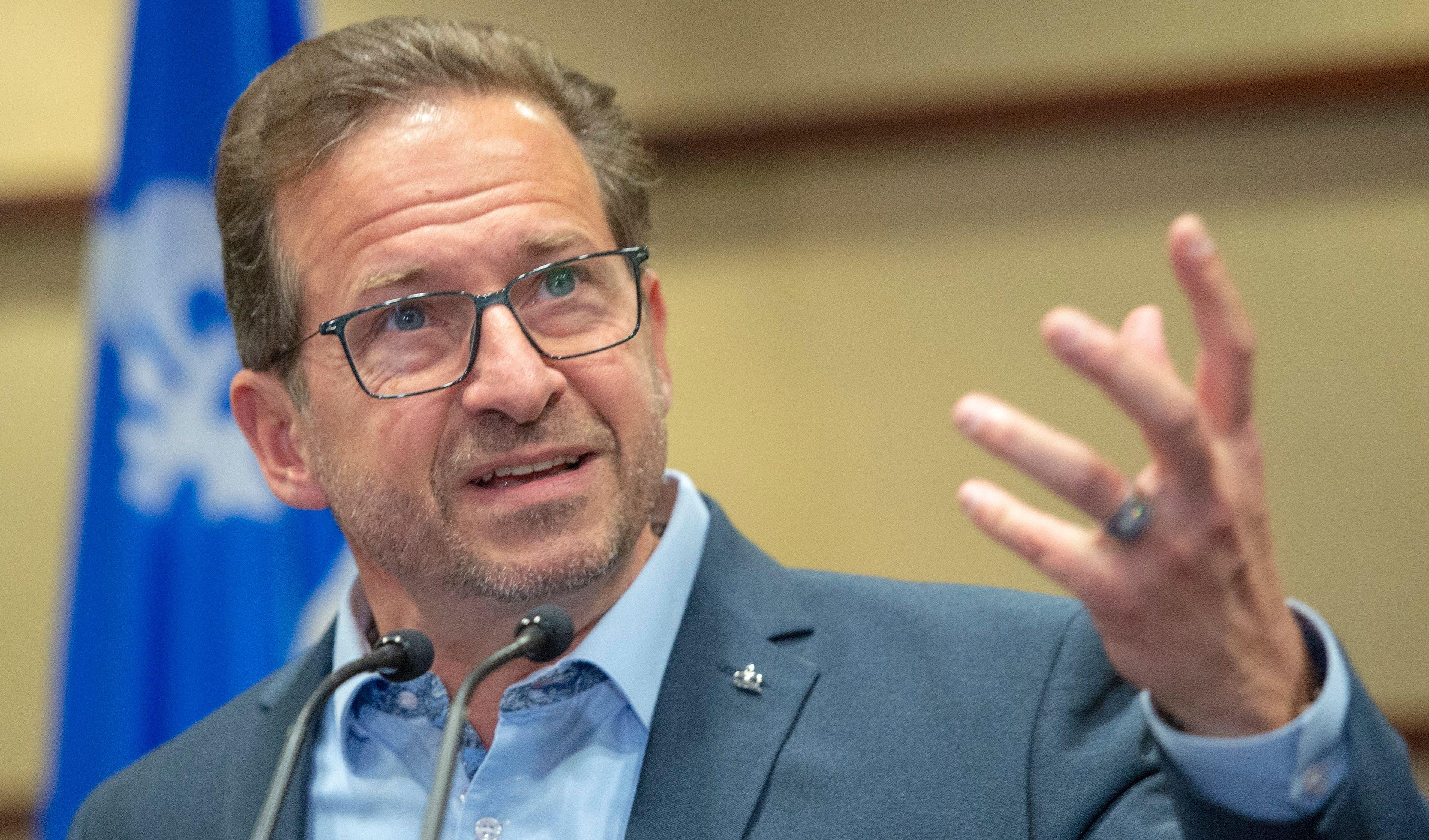 Bloc Quebecois Leader Yves Francois Blanchet Prepared To