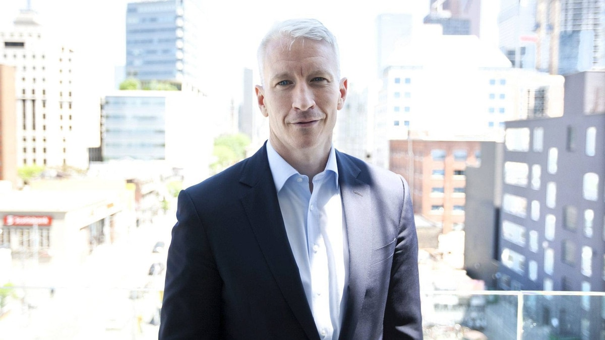 Anderson Cooper, poses in Toronto Thursday, June 2, 2011.