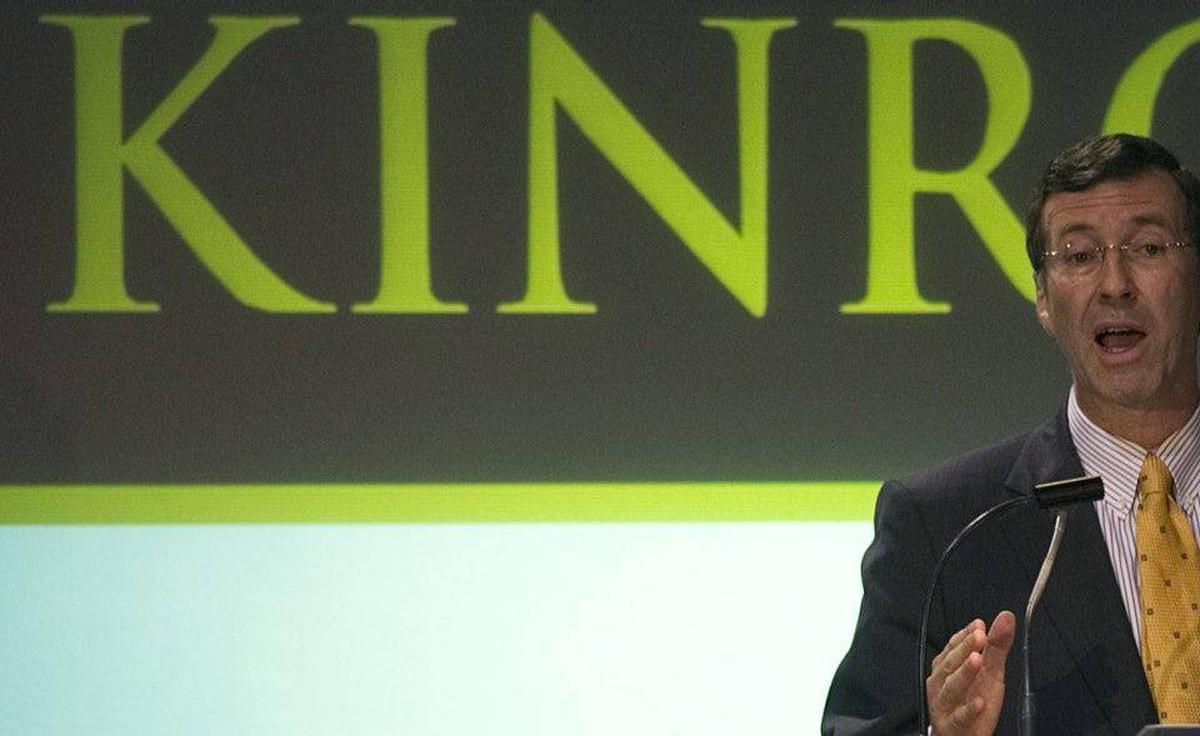 Kinross CEO Tye Burt