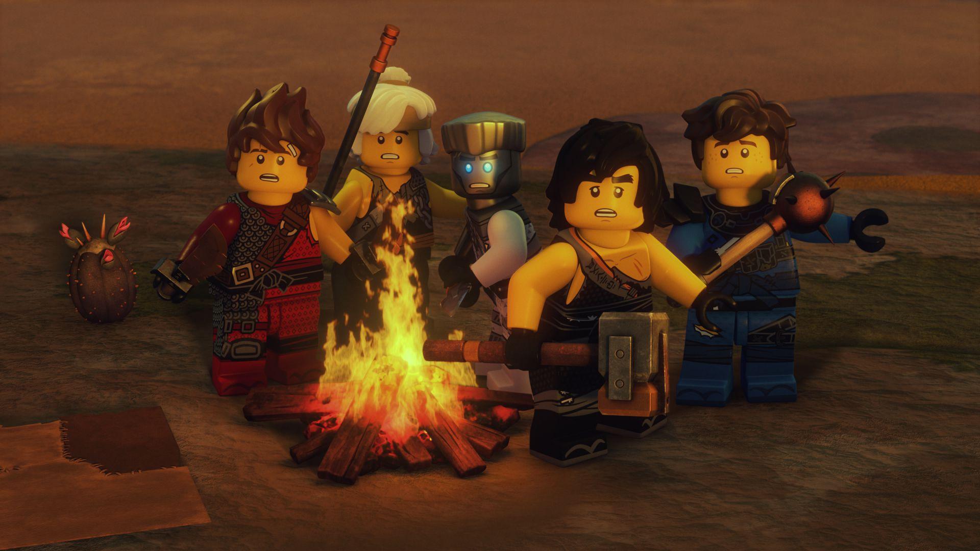 DAILY Mail LEGO-Ninjago Masters of Spinjitzu