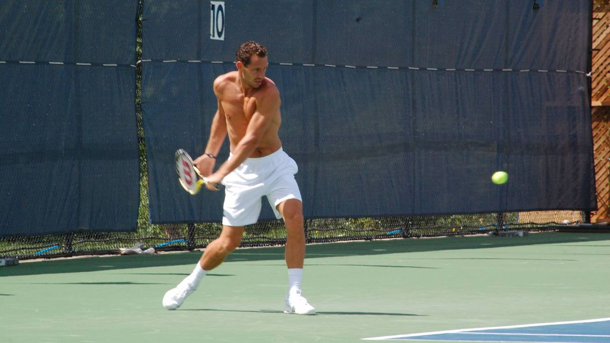 csztova uploaded this image of Michael Llodra to our Flickr pool