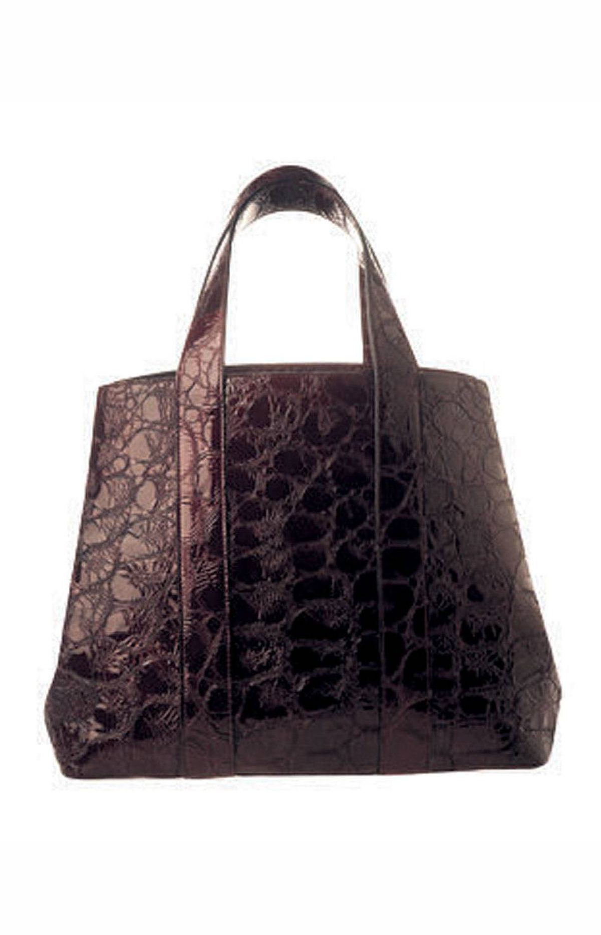 Prune-coloured Alaia alligator purse, $2,730 at The Room (www.thebay.com).